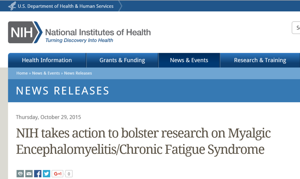 NIH Increases ME/CFS Research with New Initiative | My CMS