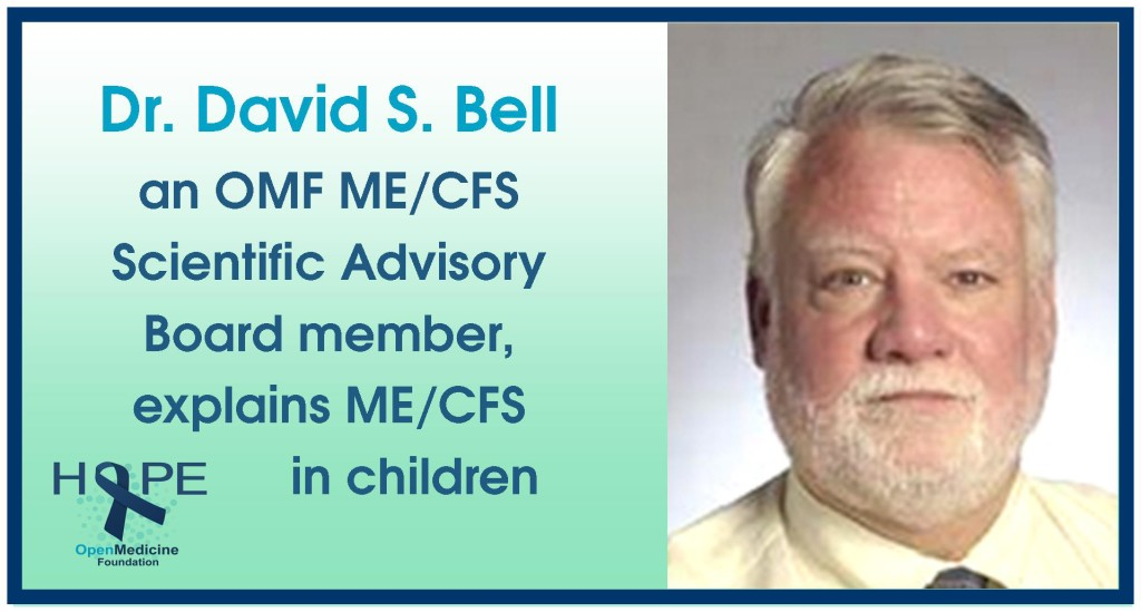 Bell explains childhood MECFS-2