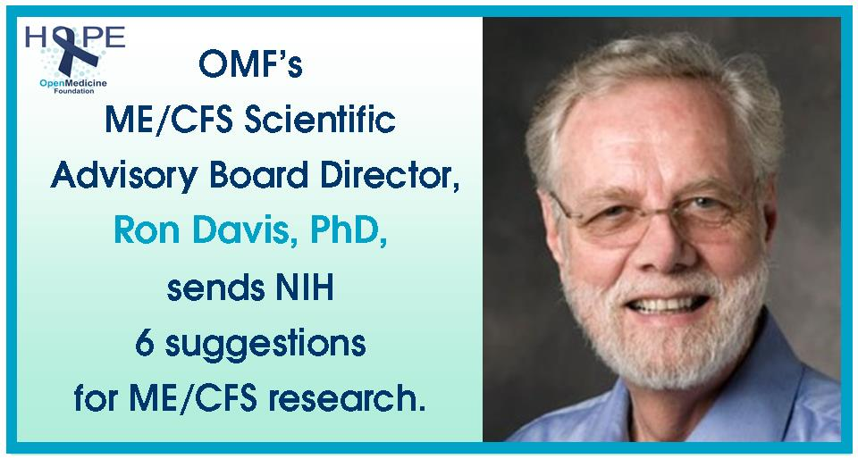 Davis Suggestions to NIH